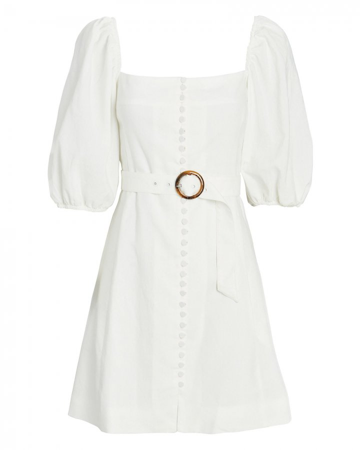 Emery Puff Sleeve Mini Dress