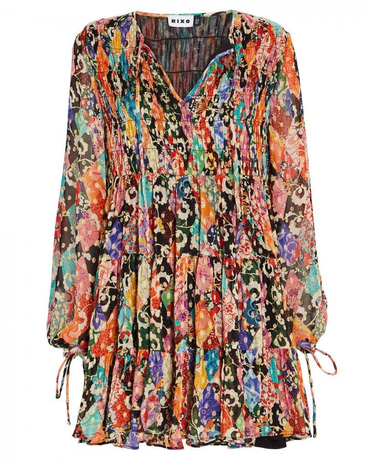Dianna Patchwork Mini Dress