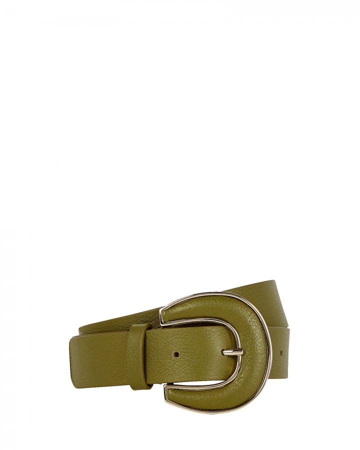 Palmer Leather Buckle Belt