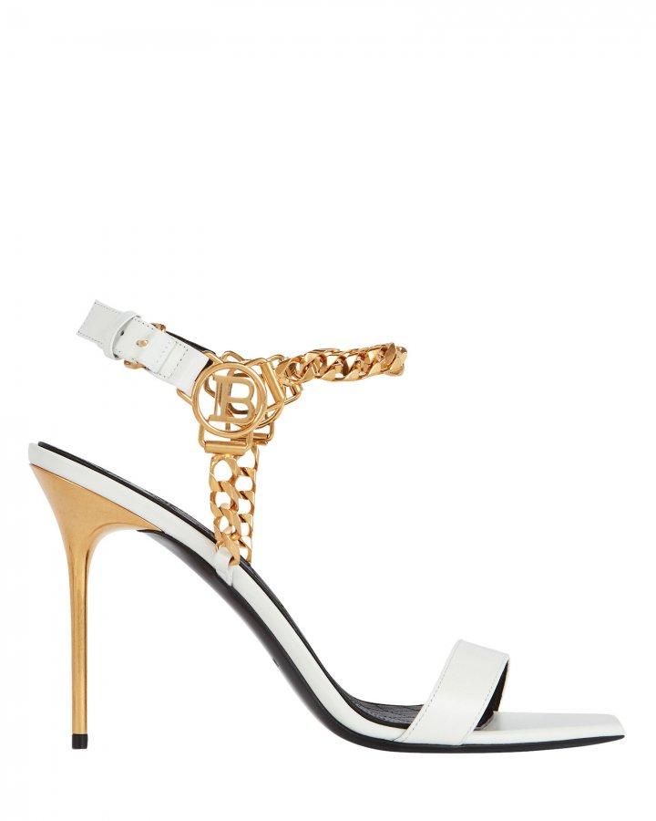 Roxana Logo Chain-Link Sandals