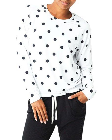 Polka Dot Sweatshirt