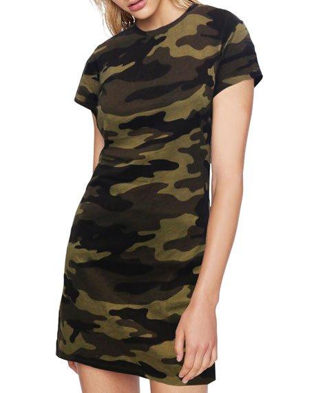 X20 Camo T-Shirt Dress