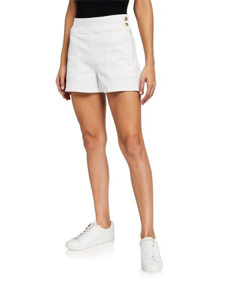 Le Francoise Mid-Rise Shorts