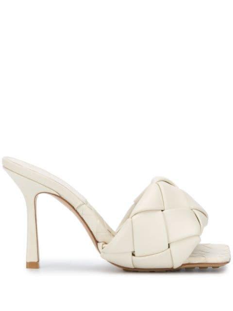 Bottega Veneta BV Lido Intrecciato Sandals