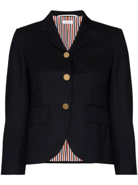 Thom Browne Cropped Fitted Blazer Jacket