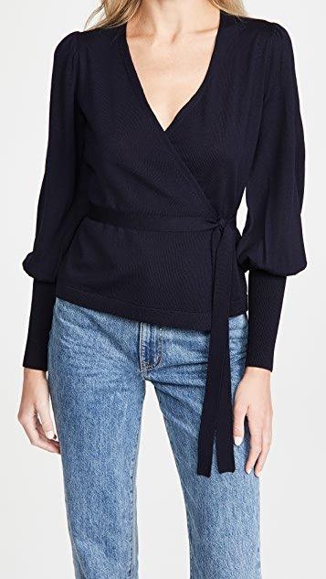 Adrielle Wrap Sweater