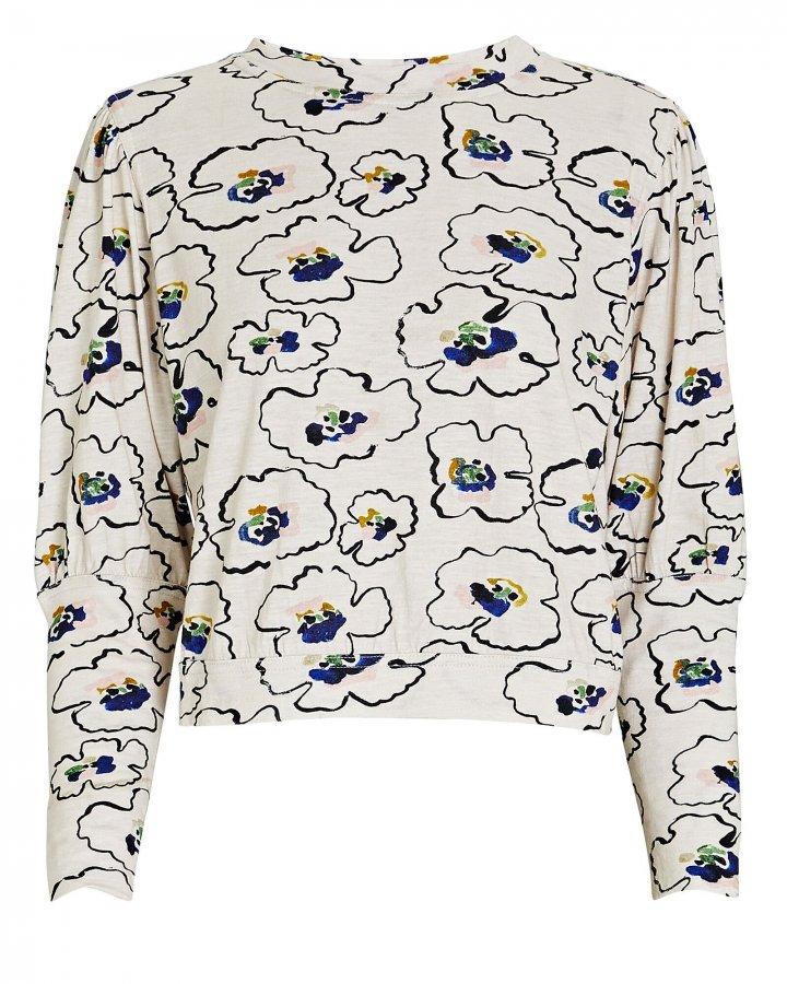 Olimpio Printed Long Sleeve T-Shirt
