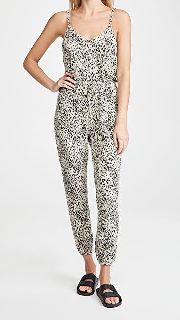 Cat Like Reflexes Leopard Jumpsuit