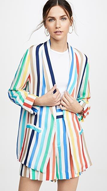 Kylie Easy Shawl Collar Jacket