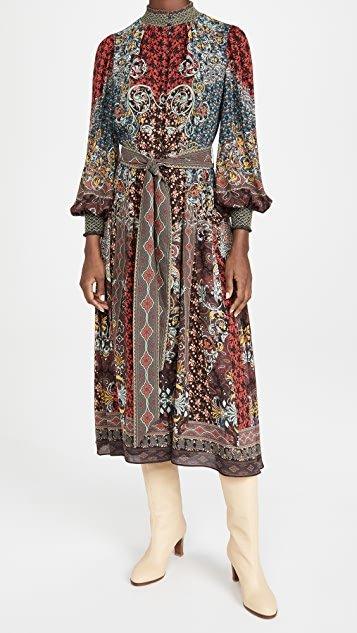 Brielle Button Down Kimono Dress