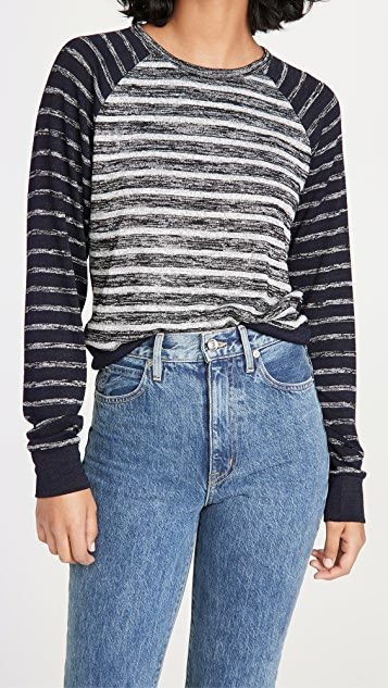 The Knit Striped Pullover