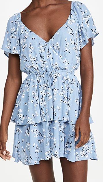 Bluebell Fields Mini Dress