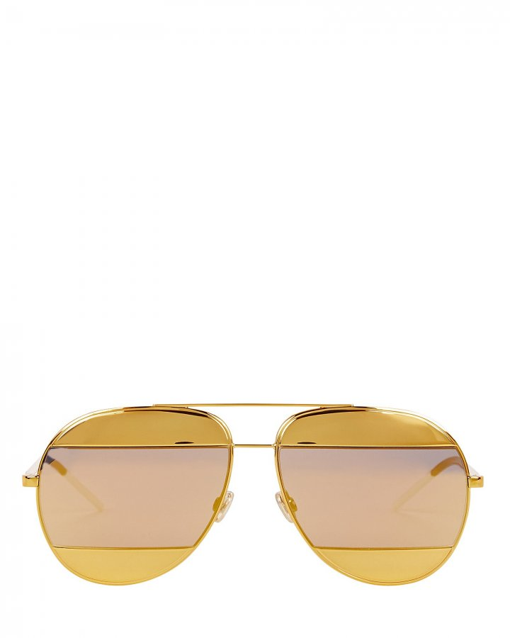 DiorSplit1 Aviator Sunglasses