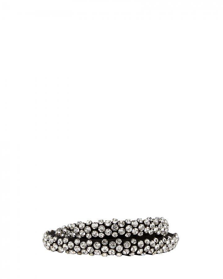 Kenzie Crystal Tie-Waist Belt