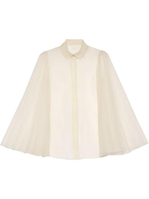 Gucci Shirt With Pleated Sleeves Aw20 | Farfetch.Com