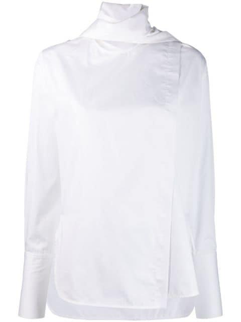 Eudon Choi Scarf Neck Shirt Aw19 | Farfetch.Com