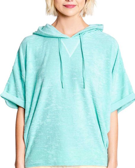Beach Bound Terry Hooded Top