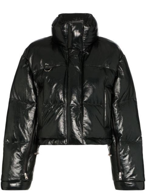 Shoreditch Ski Club Scala Zip-Front Puffer Jacket Ss20 | Farfetch.Com