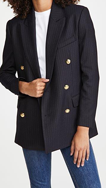 Chadwick Pinstripe Jacket