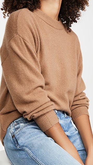 Denver Round Hem Cashmere Sweater