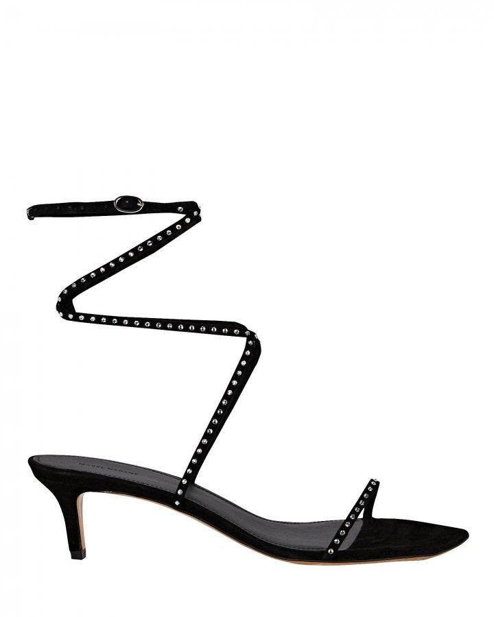 Aridee Leather Wrap Sandals