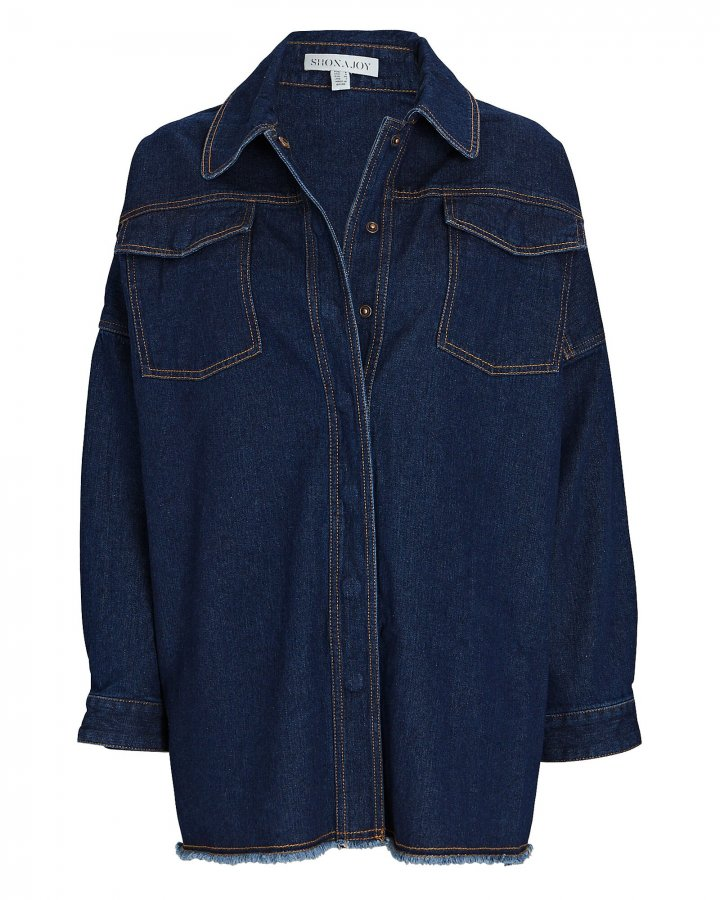 Emmerson Denim Button-Down Shirt