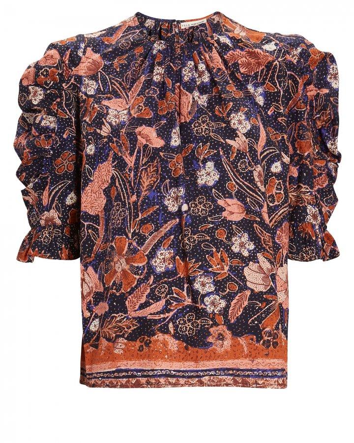Joni Floral Puff Sleeve Blouse