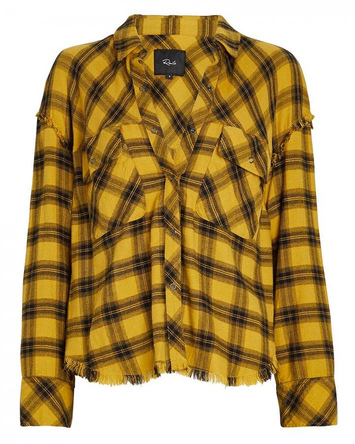 Sawyer Plaid Button-Down Shirt
