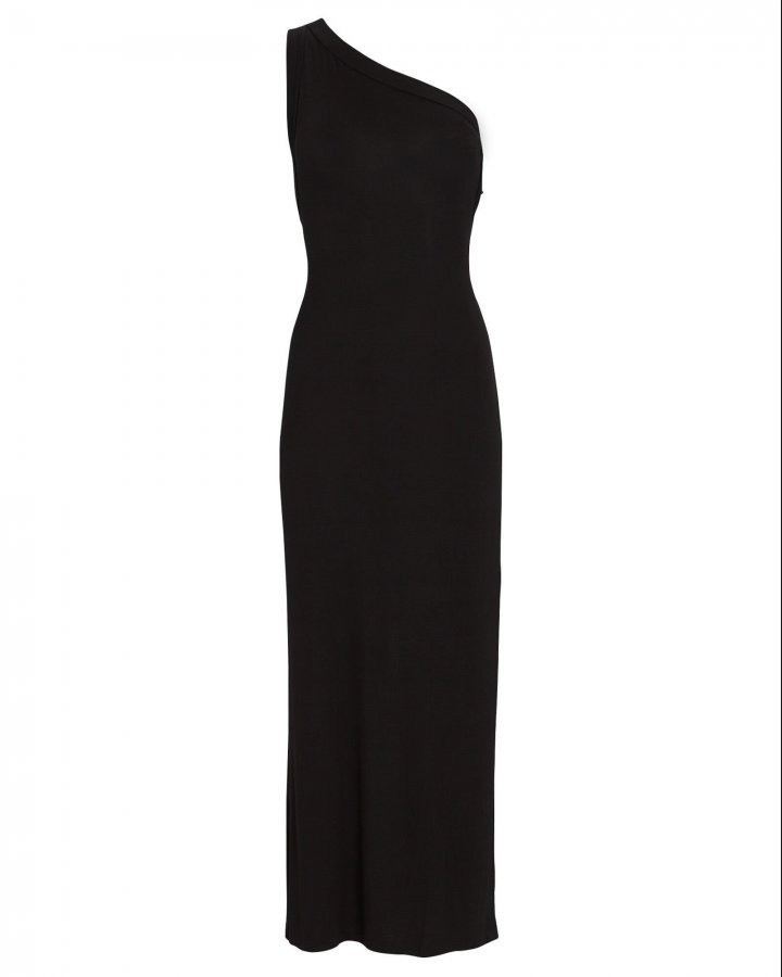 Avalon One-Shoulder Jersey Dress