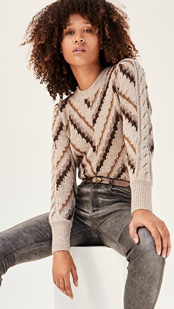 Glenny Alpaca Pullover Sweater