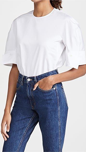 Reverse Sleeve Top