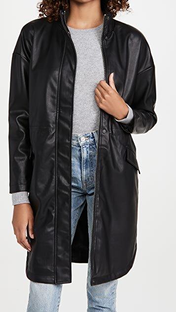 No Mo\' Faux-Mo Vegan Leather Jacket