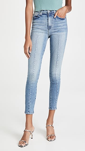 Rae High Rise Ankle Skinny Jeans