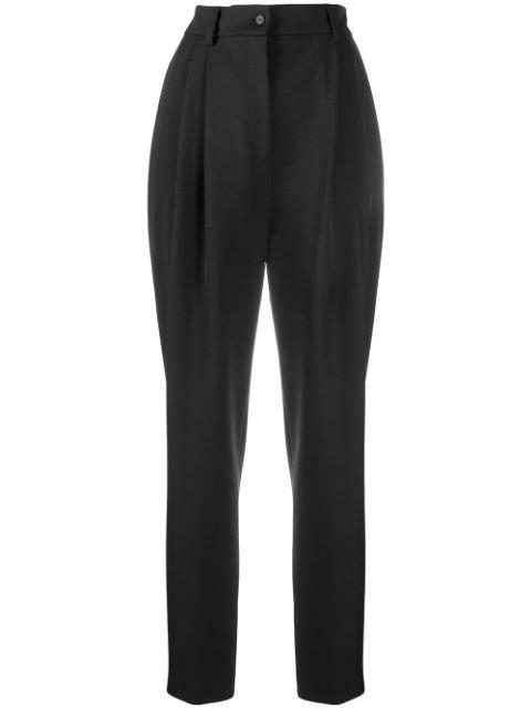 Alberta Ferretti high-waisted Tailored Trousers