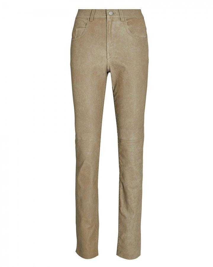 Taro Skinny Leather Pants
