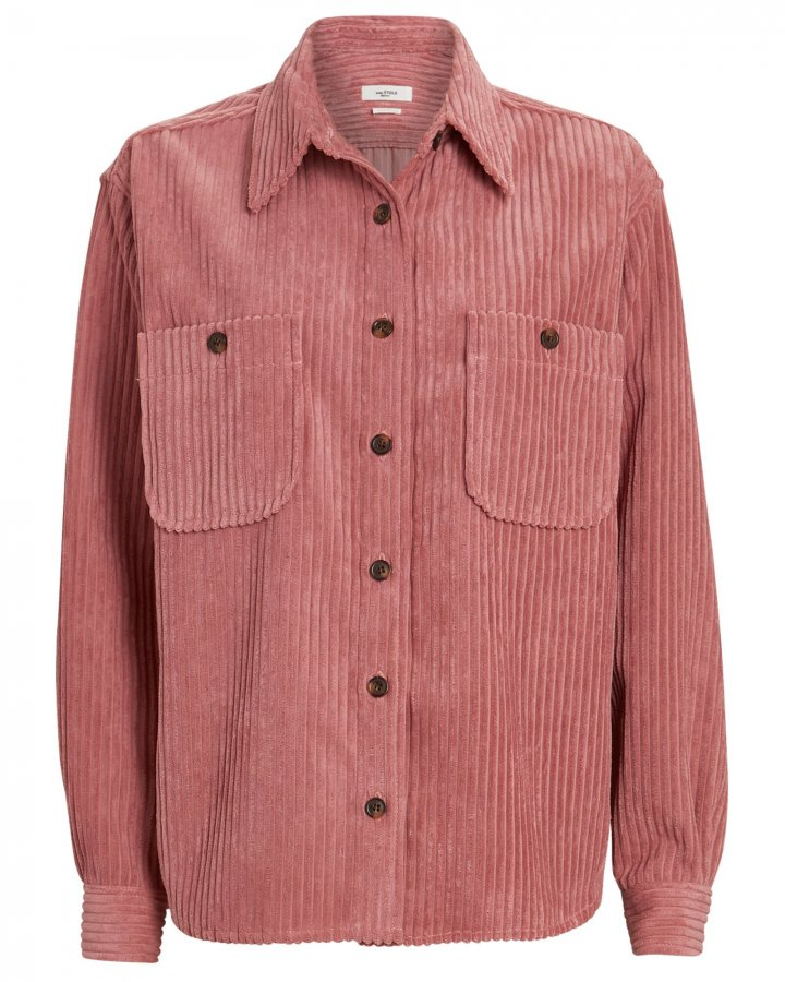 Dexo Corduroy Button-Down Shirt