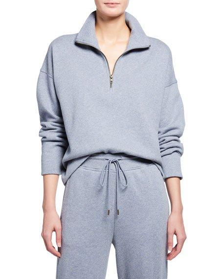 Half Zip Fleece Pullover