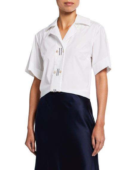 Hilus Embroidered Short-Sleeve Shirt