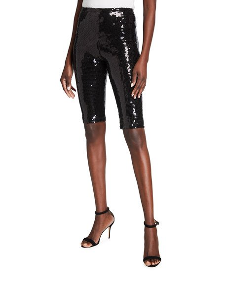 Elle Sequin Bike Shorts