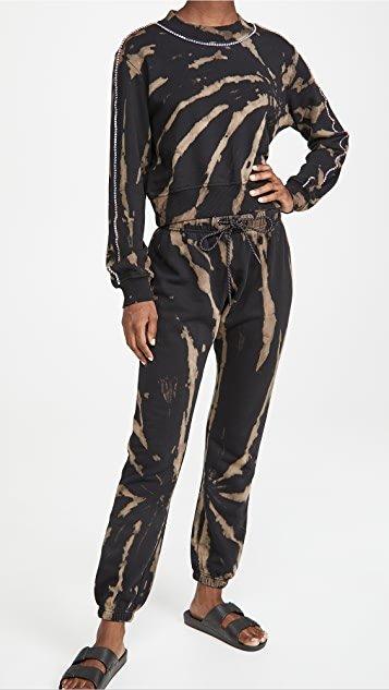 Dark Bleach Sweatpants
