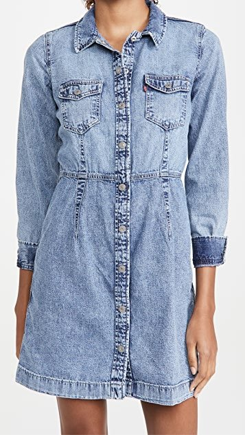 Ellie Denim Dress