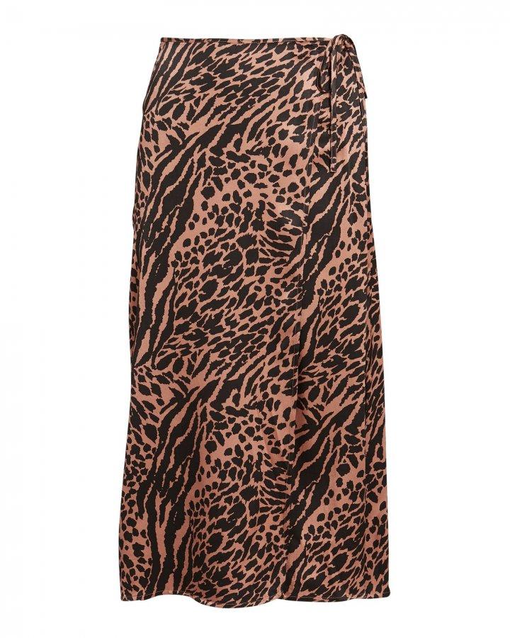 Mayfair Animal Printed Wrap Skirt