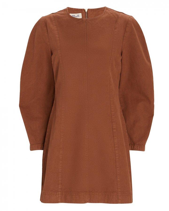 Alfreda Puff Sleeve Mini Dress