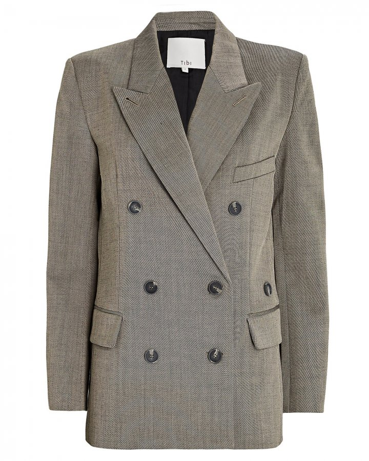 Luka Double-Breasted Suiting Blazer