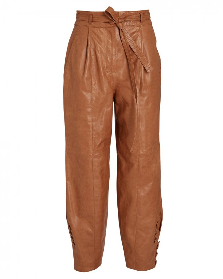 Navona Leather Trousers
