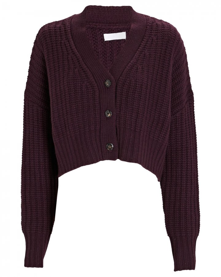Preston Cropped Cashmere Cardigan