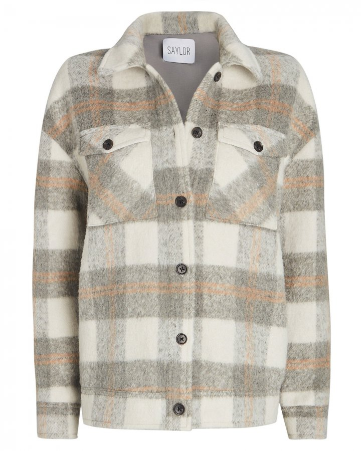 Layton Checked Shirt Jacket