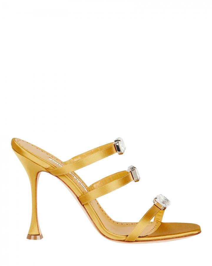 Nudosa 105 Satin Sandals