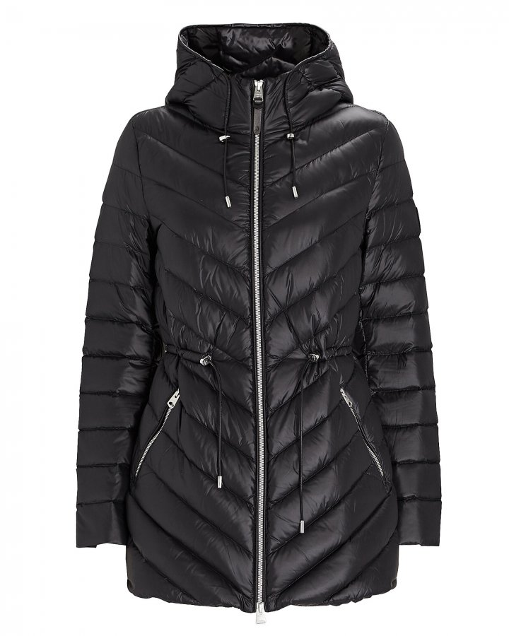 Tara Hooded Puffer Jacket
