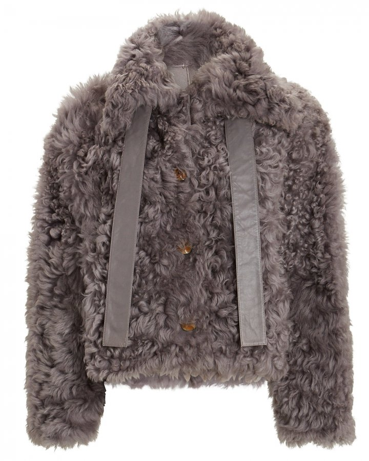 Eugenia Reversible Shearling Jacket